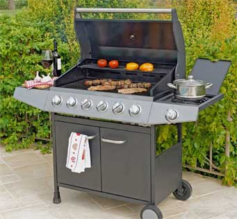 Gas Barbecue Repair by BBQ Repair Florida.