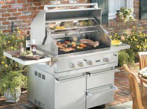 Viking grill repair by BBQ Repair Florida.