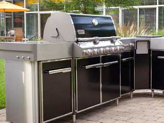 BBQ Cleaning in Hamptons at Boca Raton by BBQ Repair Florida.