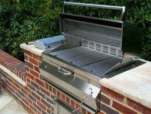 Built in barbecue repair by BBQ Repair Florida.