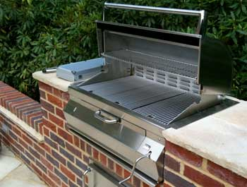 Built in barbecue repair by BBQ Repair Florida.