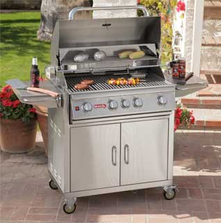 Freestanding BBQ repair by BBQ Repair Florida.