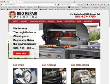 BBQ Repair Florida Blog Posts.
