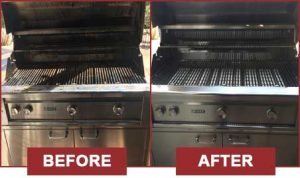 Before and After by BBQ Repair Florida.