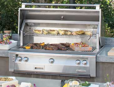 Alfresco grill repair by BBQ Repair Florida.